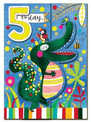 5-årskort Rachel Ellen Crocodile