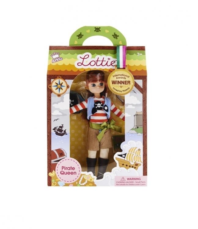 Lottie docka Pirate Queen 3+