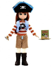 Lottie docka Pirate Queen 3+