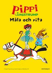 Pippi Långstrump Måla & Rita