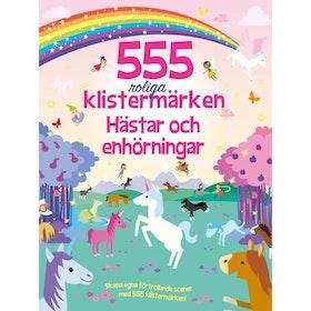 555 roliga klistermärken Hästar & Enhörningar