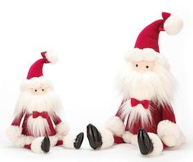 Jellycat Jultomten, 2 storlekar