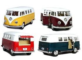 1:32 1962 Wolkswagen buss classic - 4 olika