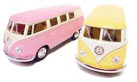 1:32 1962 Wolkswagen buss pastell - 4 olika
