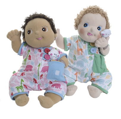 Rubens pyjamas till Baby Grön