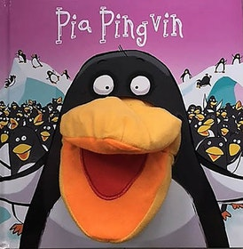 Pia pingvin - handdocka