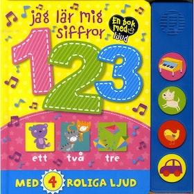 Jag lär mig siffror - med 4 olika ljud