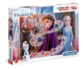Frozen II pussel 104 bitar