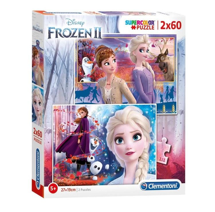 Frozen II pussel 2x60 bitar