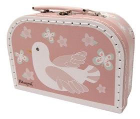 Väska med fågel