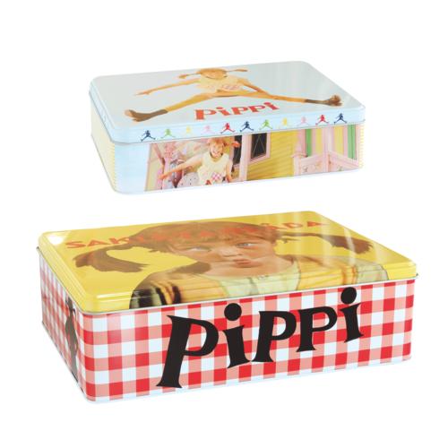 Pippi Långstrump 2-pack burk