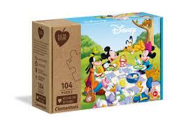 EKO - Clementoni Disney Pussel 104 bitar