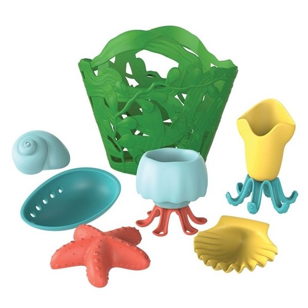 Green Toys Badleksaker i korg