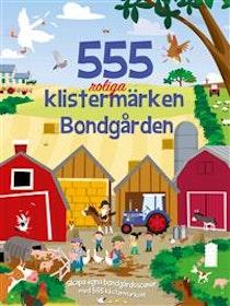 555 klistermärken Bondgård