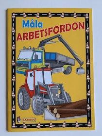 Målarbok Arbetsfordon