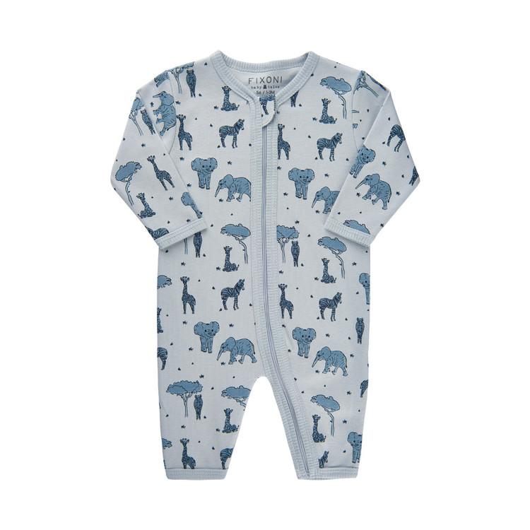 Fixoni pyjamas ljusblå 56, 62, 68, 74