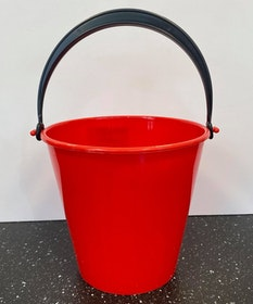 Hink 2 liter röd