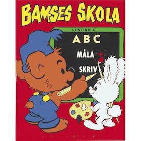 Bamses skola Måla och skriv