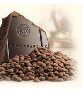 Callebaut chocklad mörk, 57.7%, 2.5 kg.