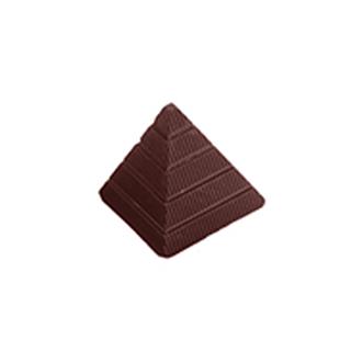 Chokladform pyramid