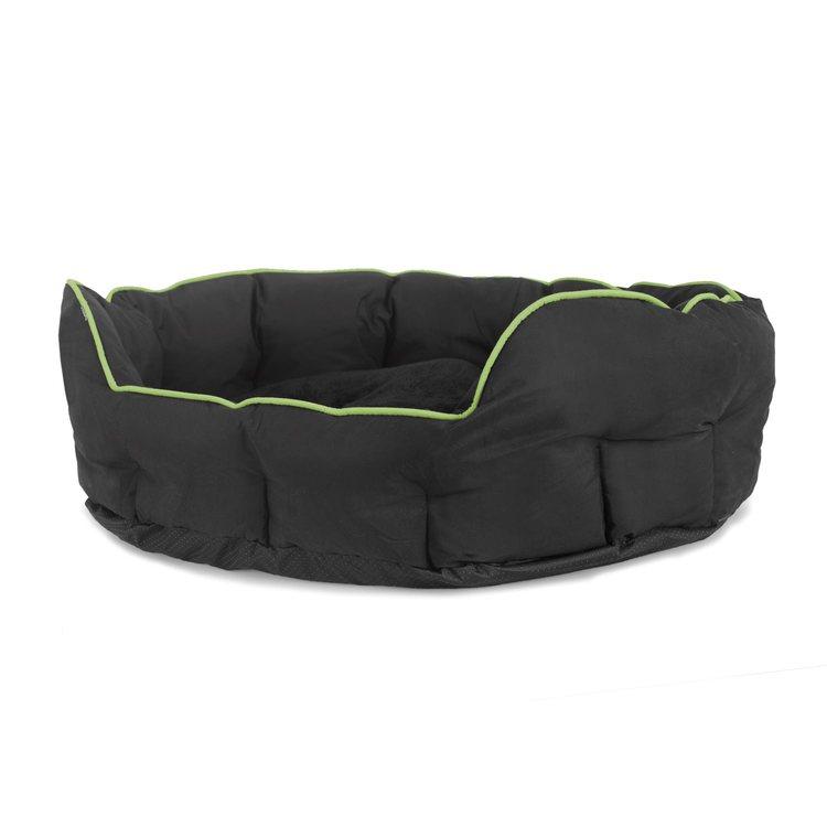 Buddy oval grön/ svart