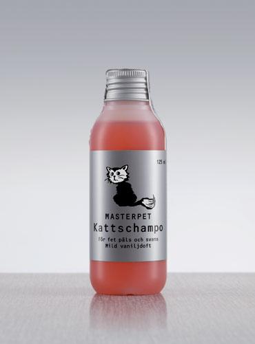 Masterpet Kattschampo for fet päls