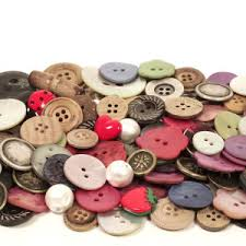20 st knappar olika 10-15 mm