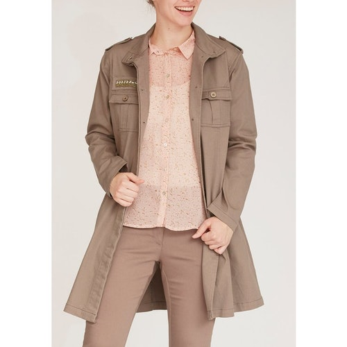 isay - Karuna Long Jacket Luxury Camel