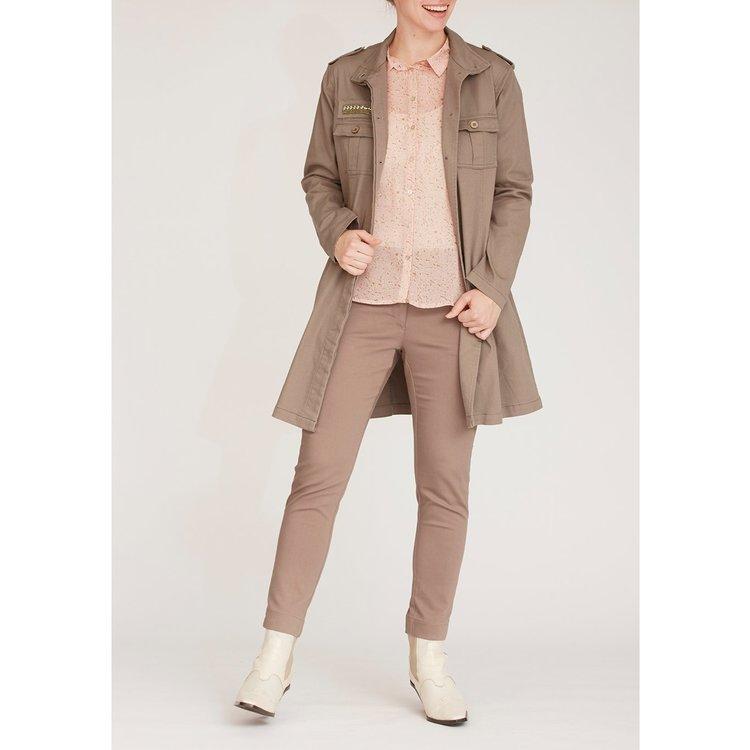 isay - Karuna Long Jacket Luxury Camel