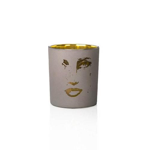 Gynning Design - Ljuskopp Grå/Guld