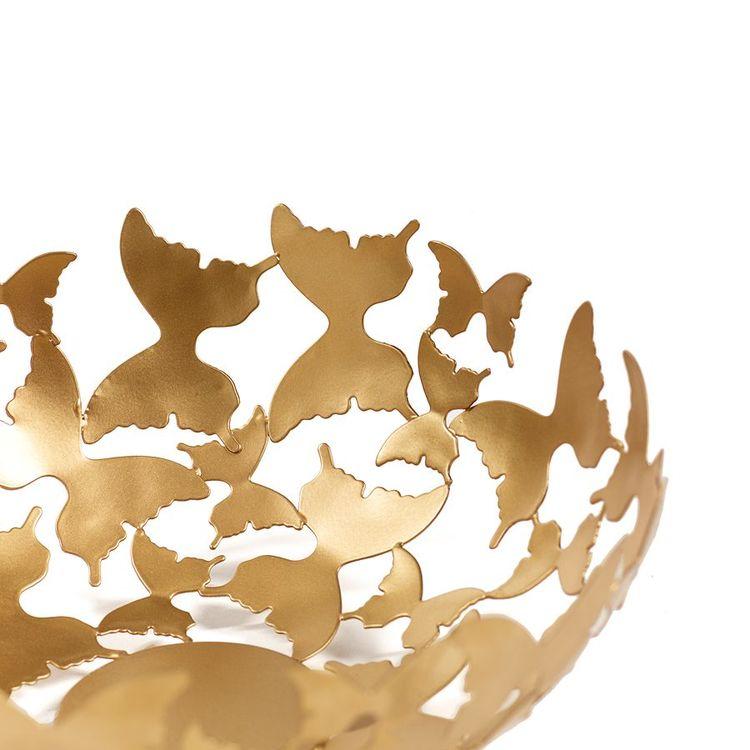 Gynning Design - Fjärilsskål Mässing