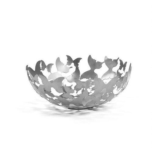 Gynning Design - Fjärilsskål Silverfärg
