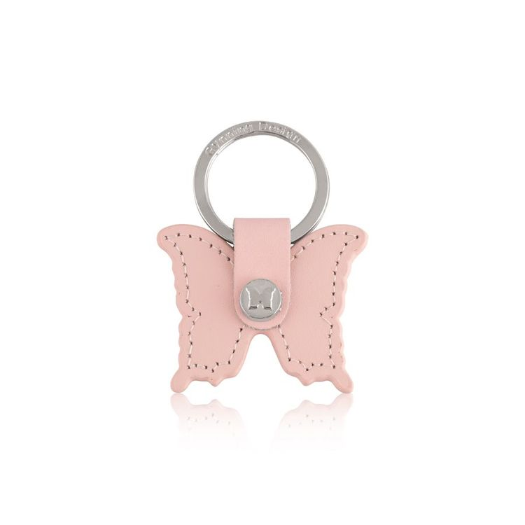 Gynning Design - Nyckelring Butterfly Rosa