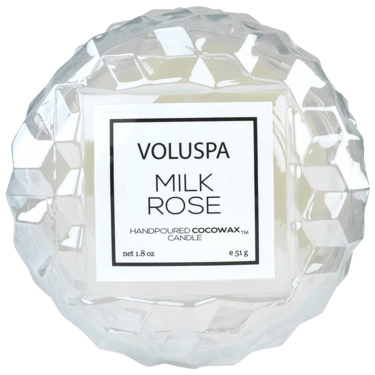 Voluspa - Milk Rose, Macaron Candle - 15 tim