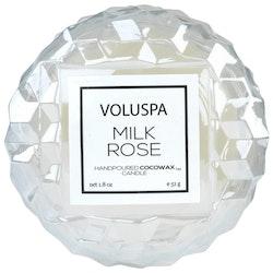 Voluspa - Milk Rose, Macaron Candle - 15 tim