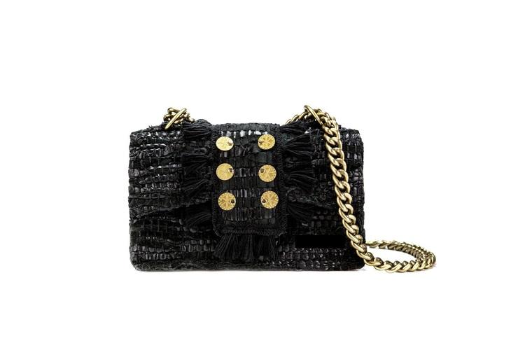 KOORELOO - Leather Shoulder Bag - New Yorker Soho Black