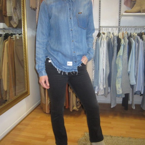 Jeans-skjorta