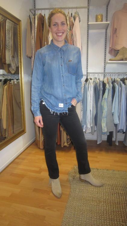 Lois Jeans - Malena-F Jossie Night Black