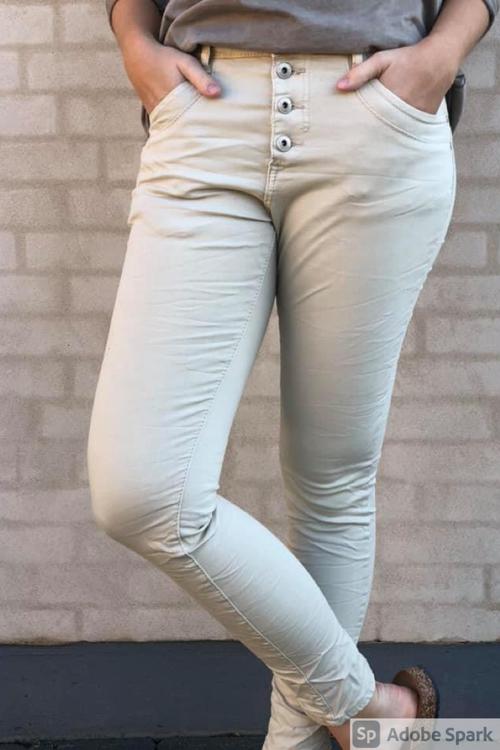 Beige Jeans från Cat o Co