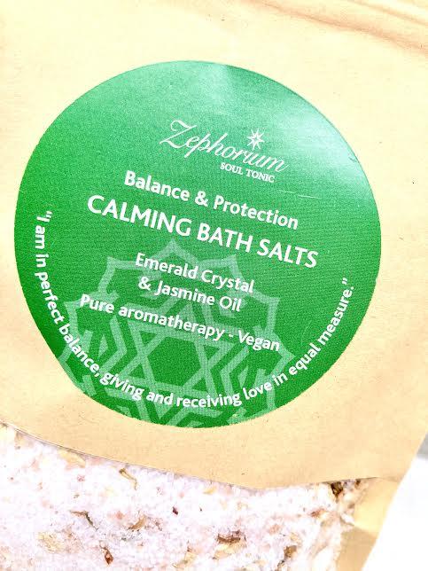 Badsalt/ fotsalt med homeopatisk kristallenergi
