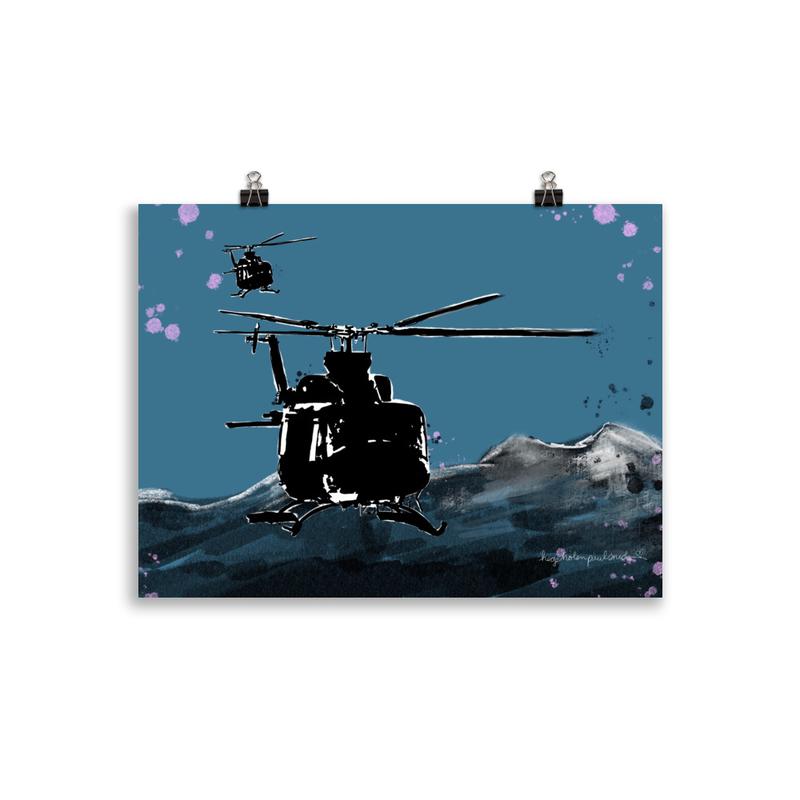 Bell 412 ved Istindan