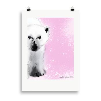 Isbjørn rosa