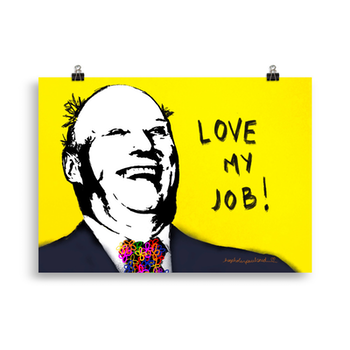 Kongen - love my job