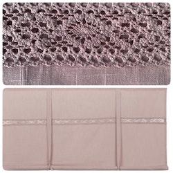Hissgardin rosa 120 cm