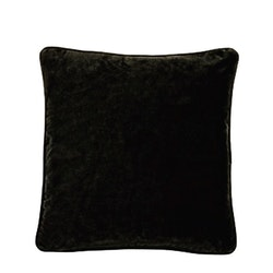 Kuddfodral svart sammet