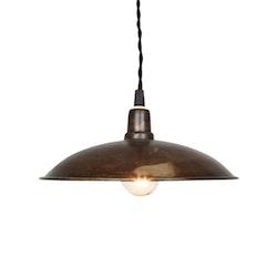 Fönsterlampa brun vintage