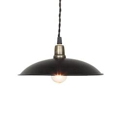 Fönsterlampa svart vintage