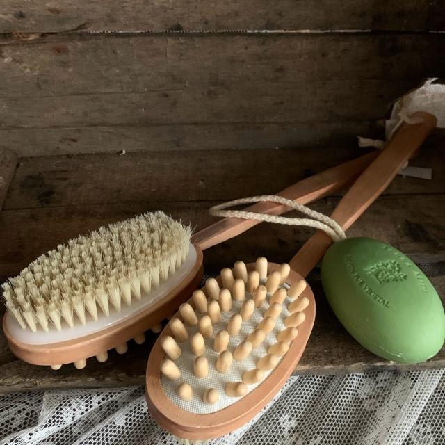 Massage & skrubborste
