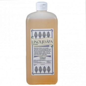 Linoljesåpa Lavendel 1 L