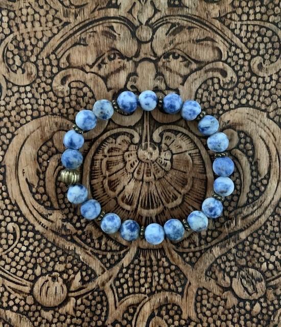 Armband Blåbär